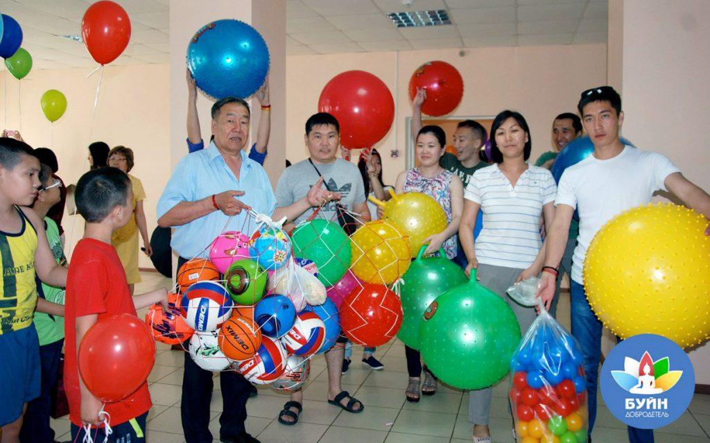 Children's Day Event in Kalmykia