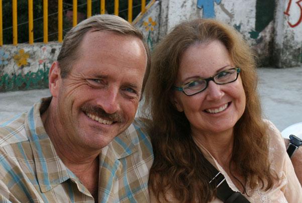 Ron Haak and Darlene Markovich