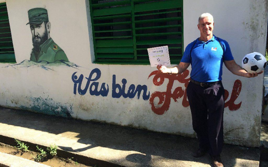 Donation made to Las Terrazes Community School, Cuba